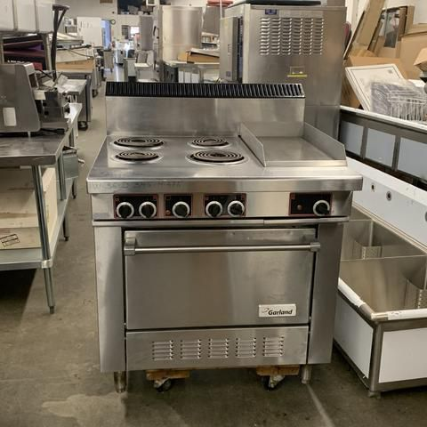 Garland S686 ELECTRIC STOVE