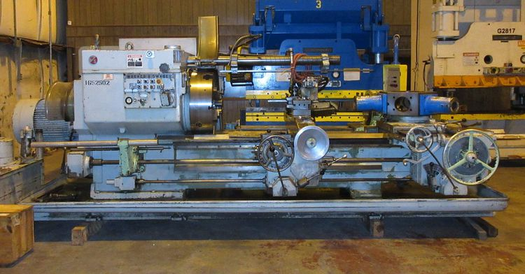 "Warner & Swasey Engine Lathe 395 RPM 4A ""SQUARE HEAD"""