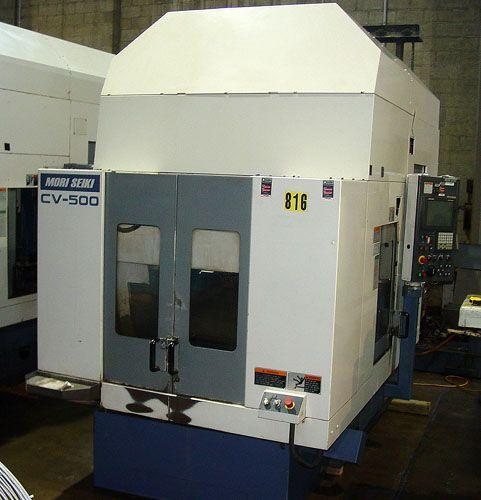 Mori Seiki 2-PALLET VERTICAL MACHINING CENTER CV-500A 3 Axis