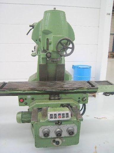 WMW Heckert FSS400-VI Max. 1400 rpm