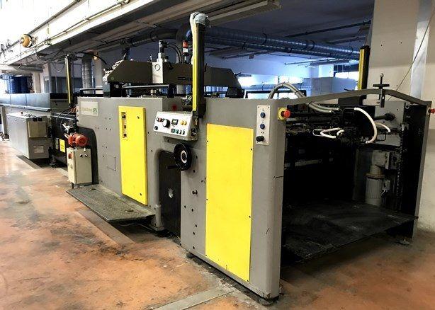 SPS Cyberpress 2 Automatic screen printing line