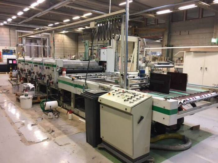 Mecem Sheet to Sheet Flexo Printing Machine 4 150 x 130 cm