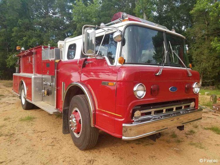 Ford, KME Fire Truck