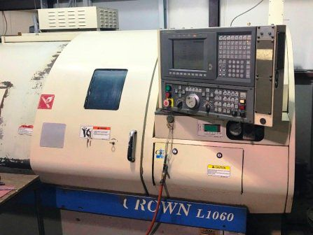 Okuma OSP U10L 3500 rpm Crown L1060 Big Bore 2 Axis
