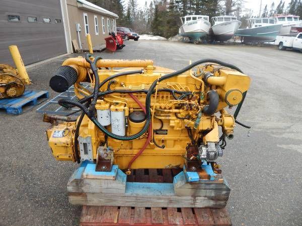 2 John Deere, ZF Hurth Marine John Deere 6081 w 375HP and ZF 280-1 A 2:1 Diesel Marine Engine