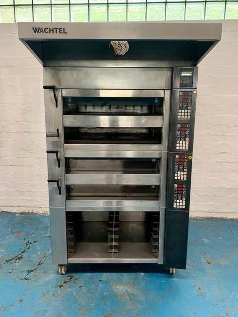 Wachtel Piccolo I-4 Master deck baking oven