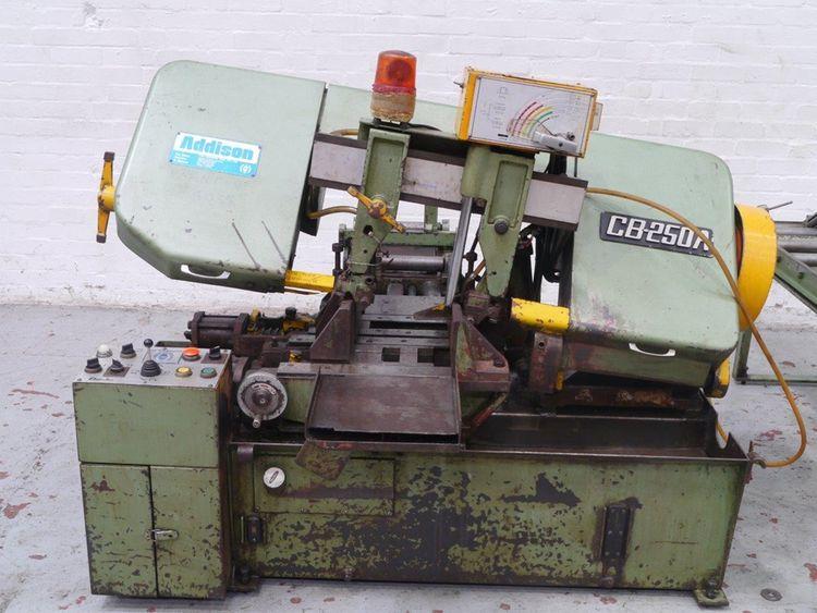 Addison CB - 250A Horizontal Bandsaw Semi Automatic