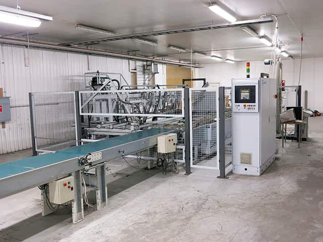Ligmatech VKC 100 Carton closing machine