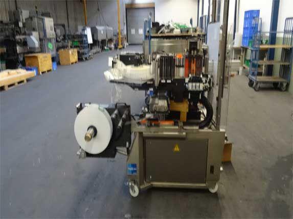 Krones Autocol labelling station APS 4 labelling station Autocol
