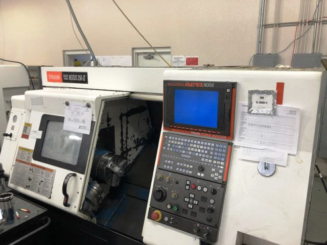"Mazak MAZATROL MATRIX NEXUS CONTROL (12.1"" COLOR LCD) 4000 rpm QTN 250-II 2 Axis"