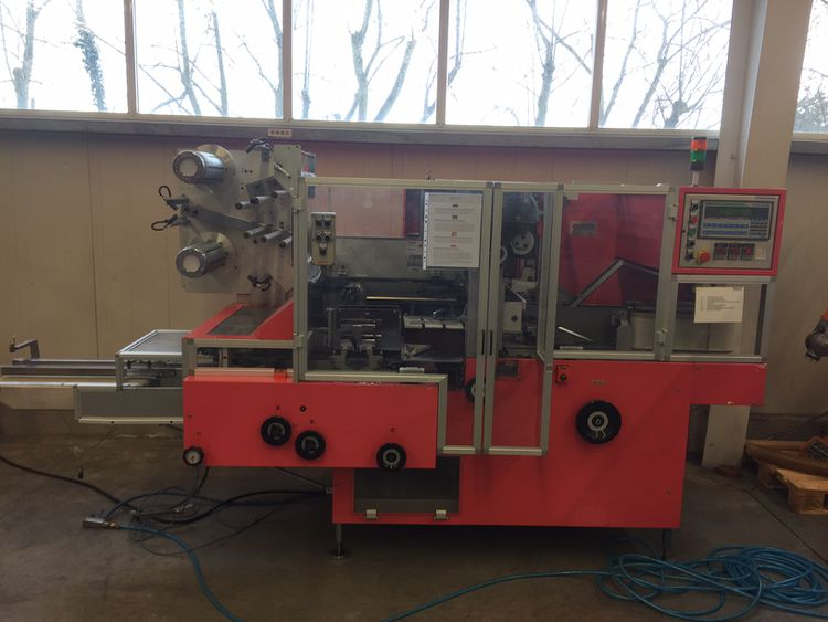 Ima BFB 3786B  Collating and overwrapping machine for cartons