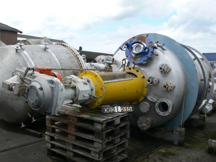 Hagemann 8200 Ltr Reactor