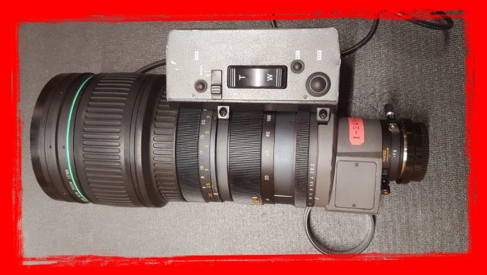 Canon J33x11 Lens with Full-Servo Controls, Sled and Case