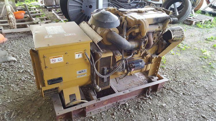 Caterpillar 3054T 72 kW Marine GenSet 72