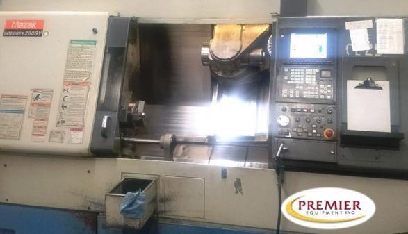 Mazak FUSION 640MT CNC CONTROL 5000 rpm INTEGREX 200SY CNC MULTI TASKING TURNING & MILLING CENT 5 Axis
