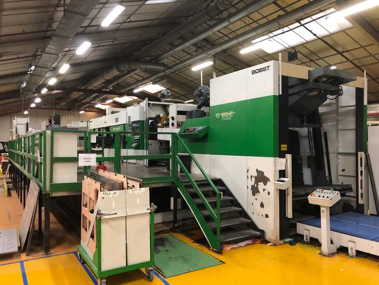 Bobst SPO 160 ER Automatic Die Cutter
