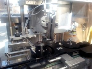 Bausch and Strobel RVB-6000 Suitable for bottle diameter 30 to 100mms, suitable for bottle height 40 to 240mms Ampoule / Vial Cap Closing Machine