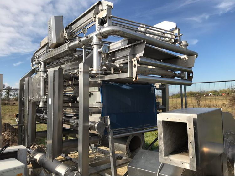 Naddeo vegetable drying line and related equipment