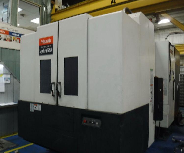 Mazak HCN-6000-II NEXUS 4 Axis