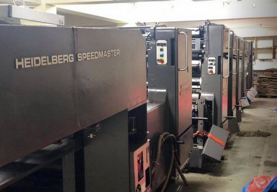 Heidelberg SM 72 F L 28 x 20 inch