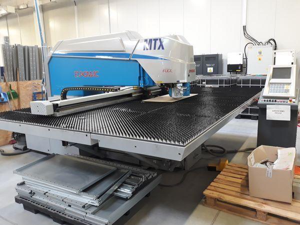 Euromac MTX 6 Flex - 1250-2500 CNC