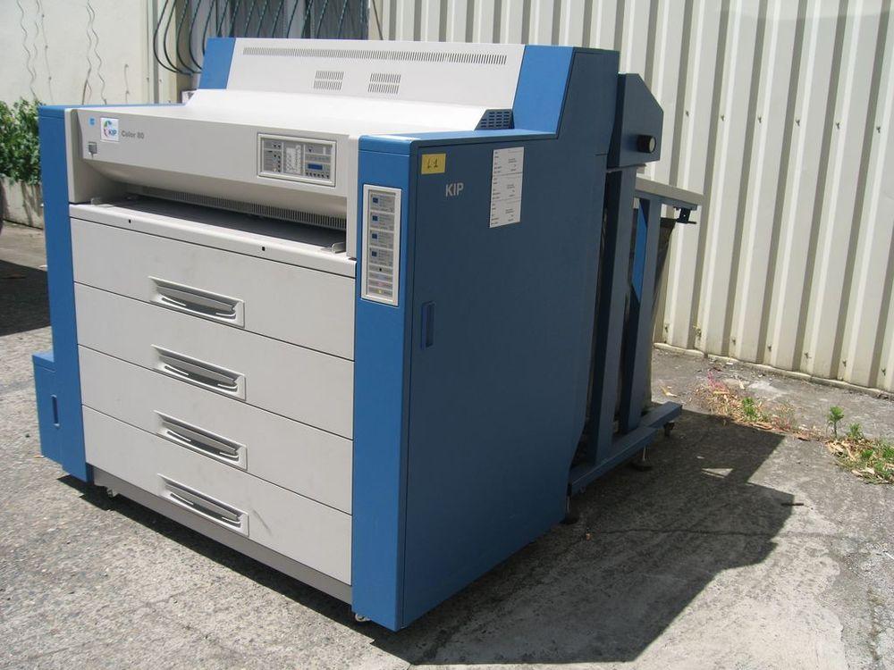 Others KIP COLOR 80, Digital Color Printer Wide Format 4