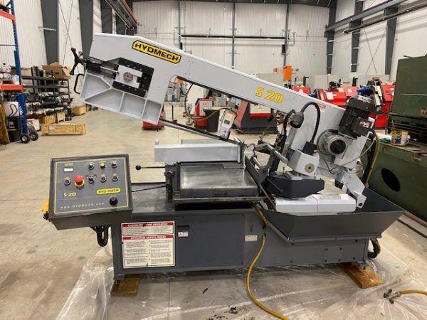 Hyd-Mech S20 Mitre Cutting Band Saw Semi Automatic