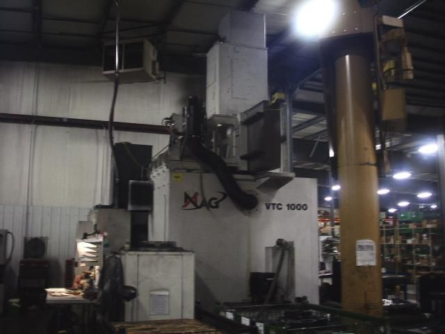 MAG VTC 1000 BORING MILL VERT. LIVE SPINDLE CNC