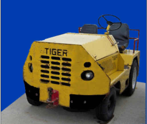 Tiger Baggage Tug