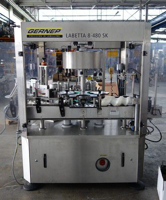Gernep Labetta sk 8 480-sk, Labeling Machine Self-adhesive with 2 stations