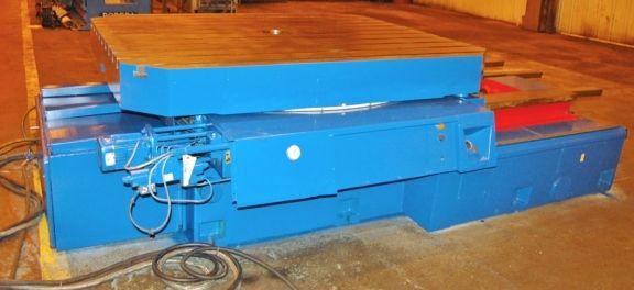 Union TI 1800 Power Cross Sliding Rotary Table