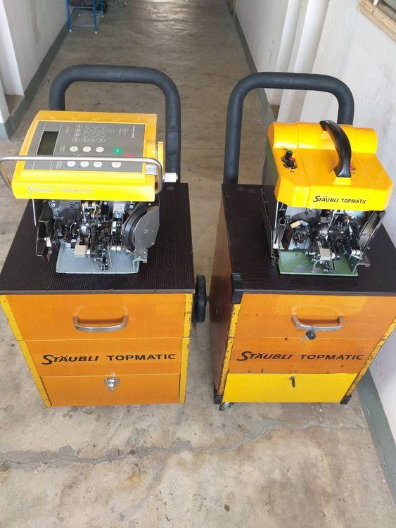 2 Staubli TPM 301-PC and TPM 201 Knotting machines
