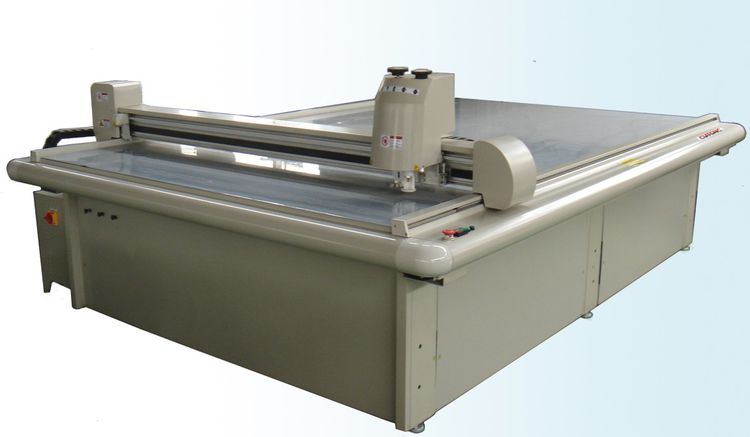 Cardboard box cutting machine box making machinery