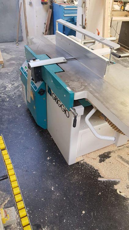 Griggio FS 530, Combined dressing thicknesser