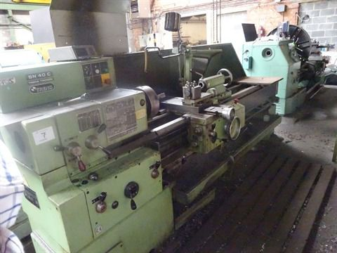 TOS Engine Lathe Variable SN40C