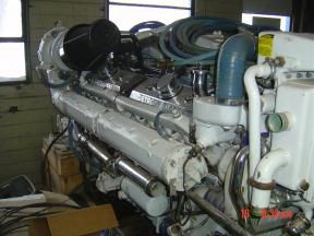 2 Detroit 16V92TAB DDEC 3 Marine Engine
