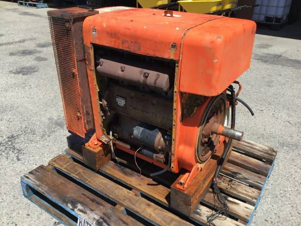 Hatz 3L41C SUPER SILENCED ENGINE Diesel Marine Engine