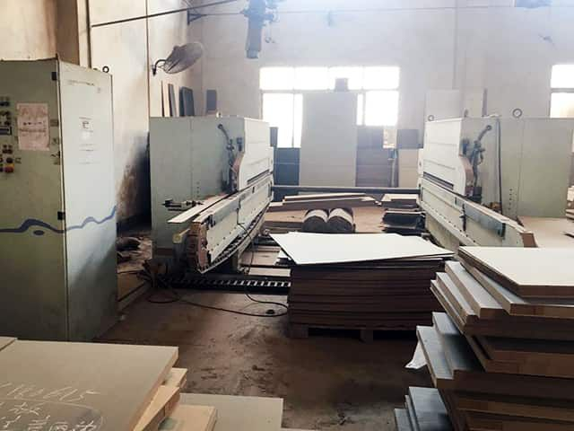 Homag FPL 226/4/25/C1 Double Sided squaring machine