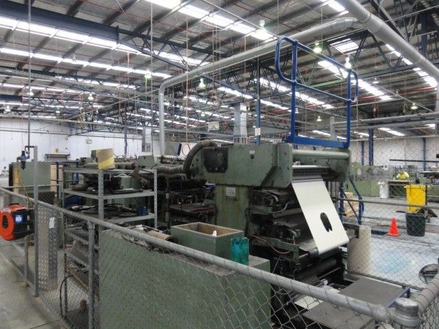 Bielomatik 1200 m RULING machine Mdl.98, BACK FOR SALE AT SMALL LOT/LOC PRICE