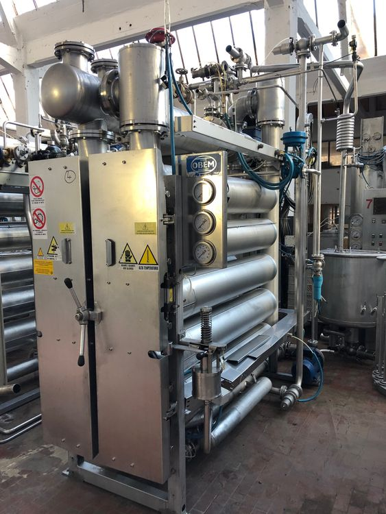 Obem API/O/10 TUBES Packages dyeing