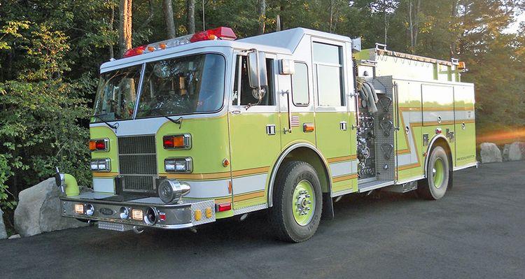 Pierce, Saber Rescue/pumper