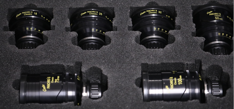 Cooke Panchro/i Classic Lens Set