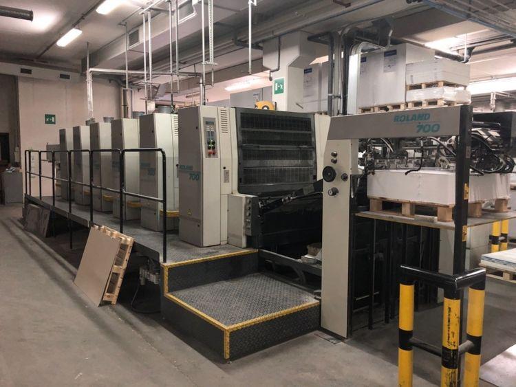 MAN Roland R706 3B SW, Sheet-fed offset press 720 x 1020 mm