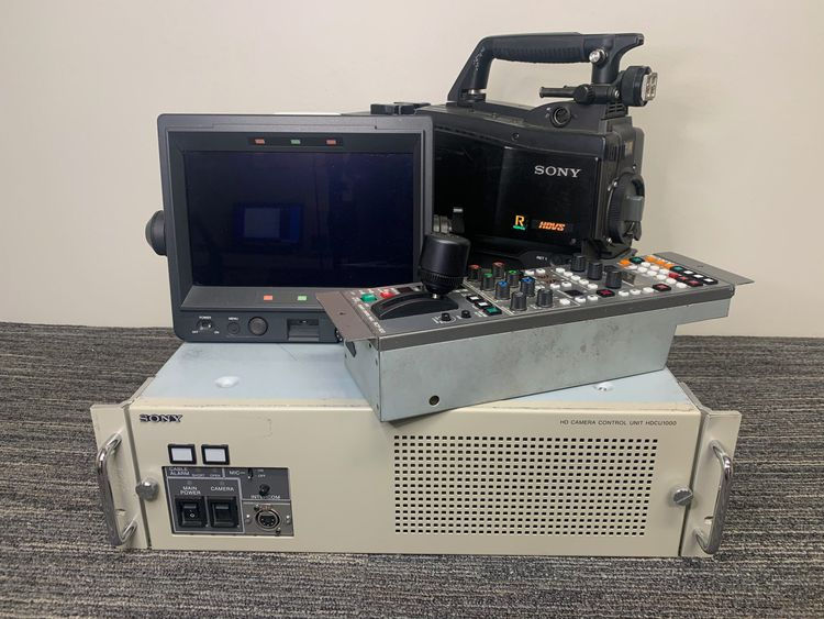 Sony HDC-1500R with HDCU-1000 Studio Camera Package