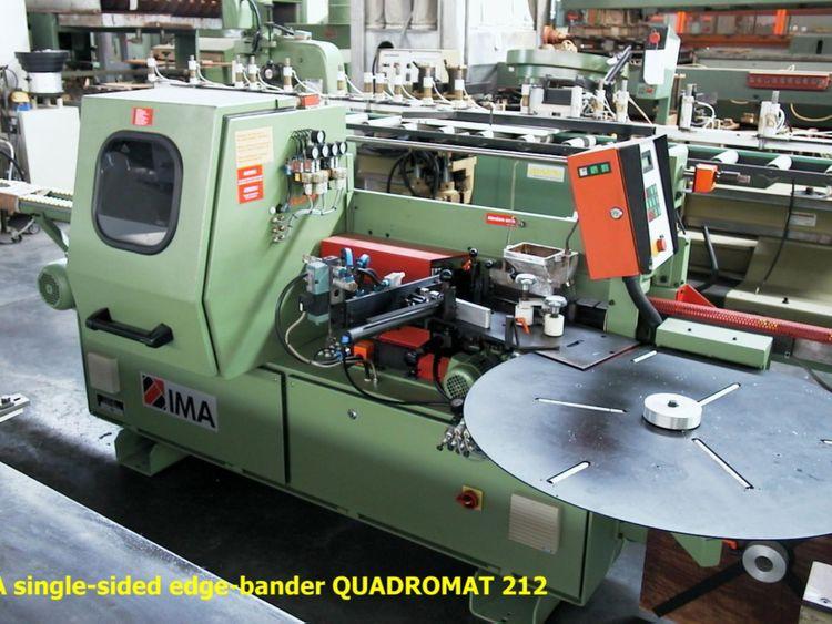 Ima QUADROMAT 212, Single-sided edge-bander