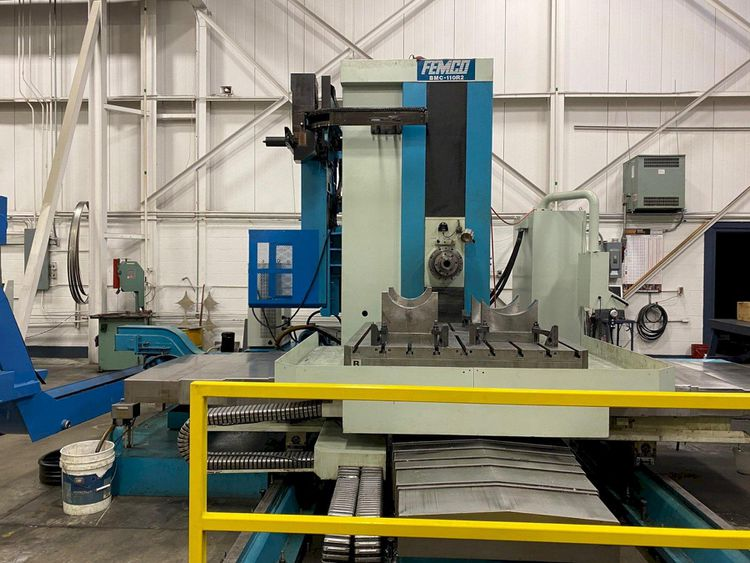 "Femco BMC-110R2 - Horizontal Boring Mills (Table) 4.3"" 2,500"