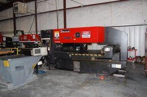 Amada PEGA 244 CNC PUNCH PRESS 22 Ton