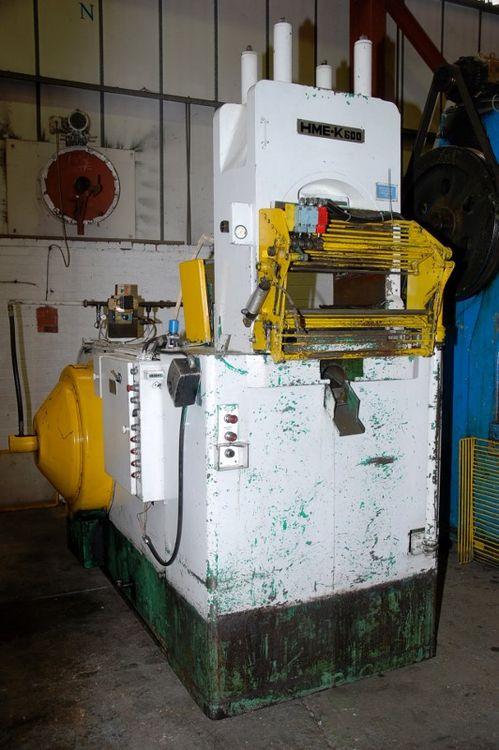 HME K600 Knuckle Press 600 Ton