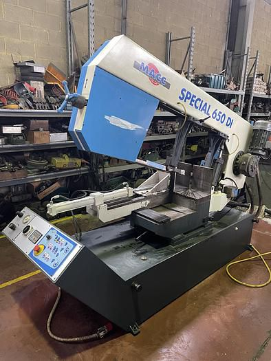 Macc SPECIAL 650 DI Horizontal Band Saw Semi automatic
