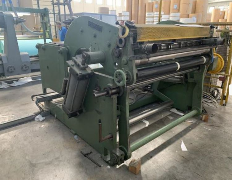 La meccanica 1.350 mm Rewinder for small cuts, double unwinder, avail end 2019